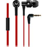 MAYA 玛雅 E10 酷锐 耳塞式耳机 面条线 手机耳机 MP3耳机 红色