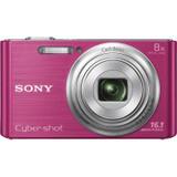 全网底价 Sony 索尼 DSC-W730_PC 数码相机 粉色