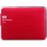 WD 西部数据 最新款 My Passport Ultra USB3.0 2TB 超薄移动硬盘 红色 WDBMWV0020BRD